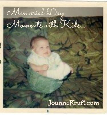 memorial day moments with kids