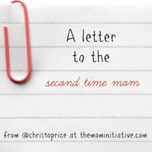 a letter to the second time mom