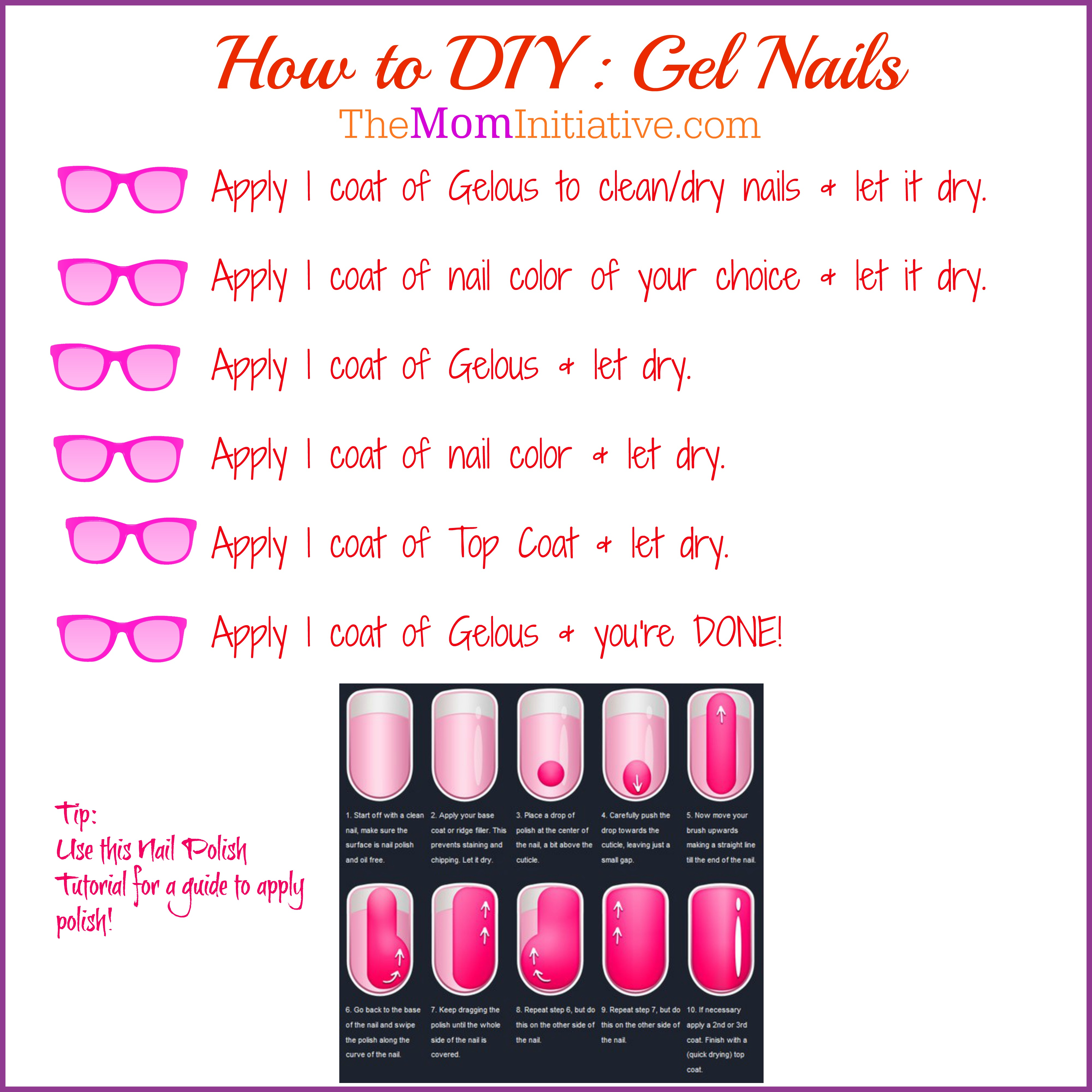 Salon FABULOUS Nails for under $7.00 - DIY GEL Nails - For Busy Moms ...