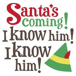 santa_i_know_him_greeting_cards_pk_of_10