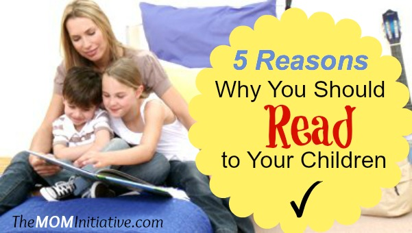 Stock footage mother reading a book with her children in bedroom