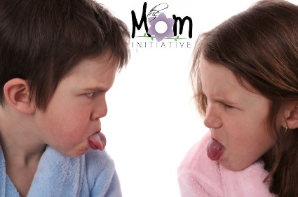 I'm over at The Mom Initiative today talking about ways to stop sibling squabbles!