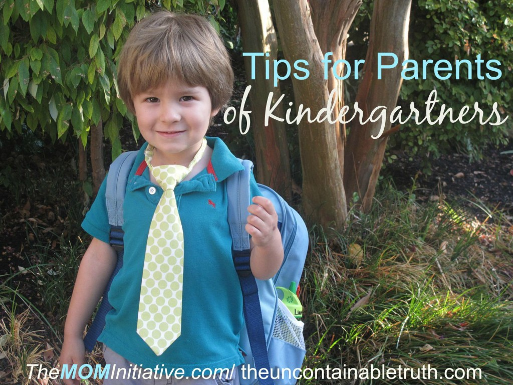 tips parents kindergartners