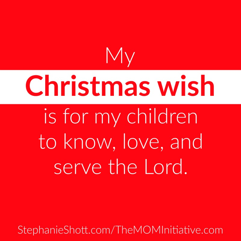 A Christmas Wish for Christian Moms - Is This YOUR Wish Too? - The ...